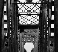 Brookshire Rail Road Bridge BW II Sticker