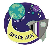 Certified Space Ace Photographic Print