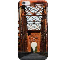 Brookshire Rail Road Bridge II iPhone Case/Skin