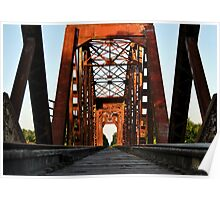 Brookshire Rail Road Bridge II Poster