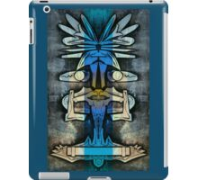 Soaring Down - Upside-Down Art by L. R. Emerson II iPad Case/Skin