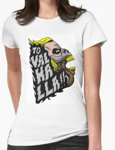 Mad Max Valhalla Womens Fitted T-Shirt