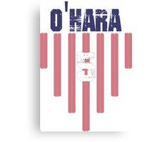 Kelley O'Hara #5 | USWNT Olympic Roster Canvas Print