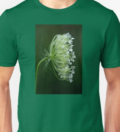 Profile of a Queen - Queen Anne's Lace Wildflower Unisex T-Shirt