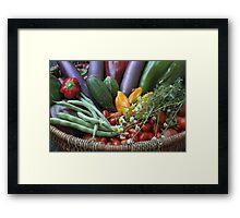 Garden Goodies! Framed Print