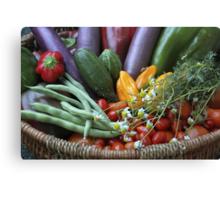 Garden Goodies! Canvas Print