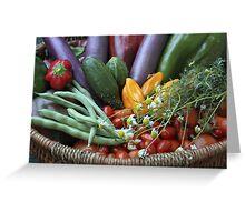 Garden Goodies! Greeting Card