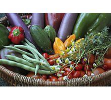 Garden Goodies! Photographic Print