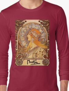 Vintage poster - Zodiac Long Sleeve T-Shirt