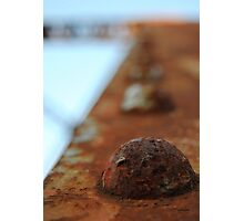 Iron Rivet II Photographic Print