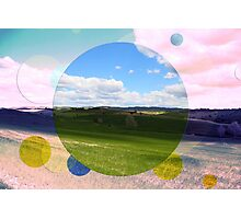 All About Italy. Tuscany Landscape 3 Photographic Print