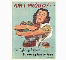 Vintage poster - Am I Proud? Unisex T-Shirt