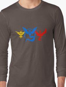 Pokemon GO - Team Instinct, Mystic and Valor  Long Sleeve T-Shirt
