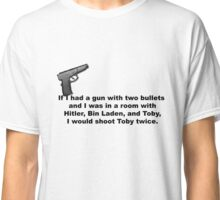 The Office, If I had a gun... Classic T-Shirt