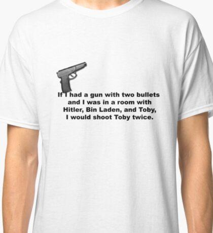 The Office, If I had a gun... Classic T-Shirt