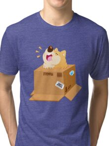 Box Shiba Tri-blend T-Shirt