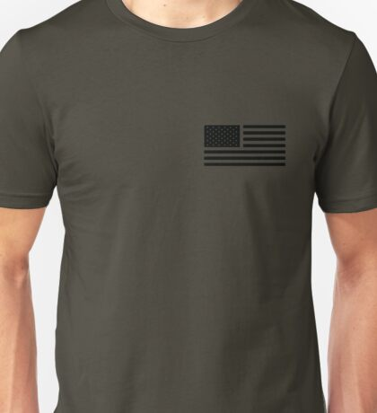 American Flag Tactical Unisex T-Shirt