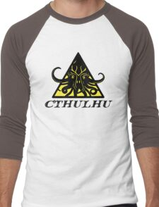 Warning Cthulhu hazard Men's Baseball ¾ T-Shirt