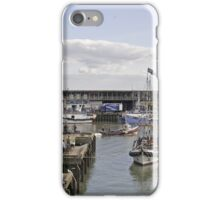 Bridlington Harbour. A Panoramic View iPhone Case/Skin