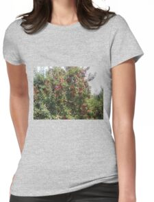 Bearing Apples Womens Fitted T-Shirt