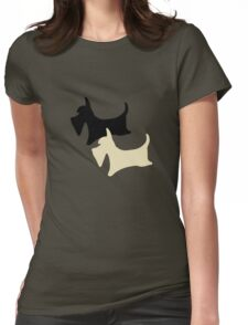 Scotty serenity pattern Womens Fitted T-Shirt