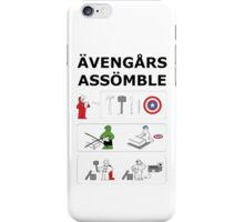 Superheroes Assembling - Colour iPhone Case/Skin