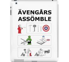Superheroes Assembling - Colour iPad Case/Skin