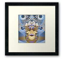 """Upside-Down, Down-Side Up"" Topsy Turvy Art by L. R. Emerson II Framed Print"