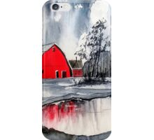 Winter Lake iPhone Case/Skin