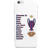 Barcelona 1992 European Cup Final Winners iPhone Case/Skin
