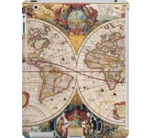 Old Map iPad Case/Skin