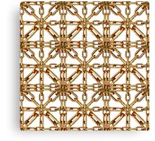 Chain Pattern Collage Canvas Print