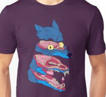 Dissected Wolf Unisex T-Shirt