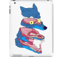 Dissected Wolf iPad Case/Skin