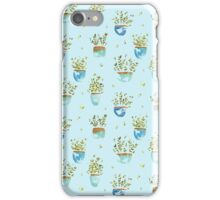 Wee Potted Plant Babies iPhone Case/Skin