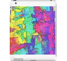 Abstract Rainbow Geography iPad Case/Skin