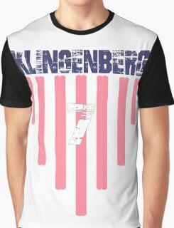 Meghan Klingenberg #7 | USWNT Olympic Roster Graphic T-Shirt