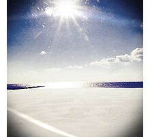 Winter at the Beach Photographic Print