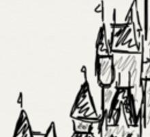 Disney Cinderella's castle Sticker