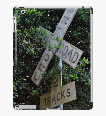 Railroad Crossing iPad Case/Skin