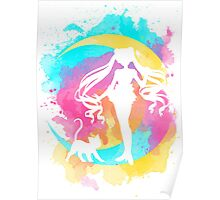 Happy Guardian Sailor Moon Poster