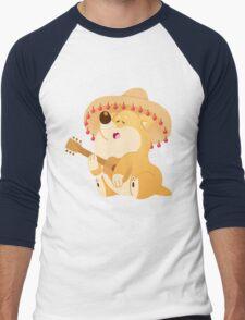 Fiesta Shiba Men's Baseball ¾ T-Shirt