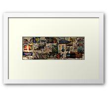 Traveling the World  Framed Print