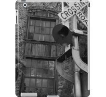 Railroad Crossing and Building iPad Case/Skin