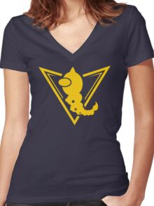 Team Weedle Women's Fitted V-Neck T-Shirt