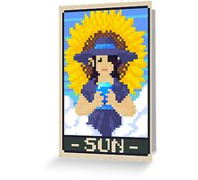 Sun Tarot - Whitney Greeting Card