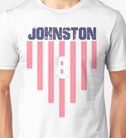 Julie Johnston #8 | USWNT Olympic Roster Unisex T-Shirt