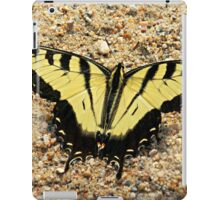 Yellow Tigerfly iPad Case/Skin