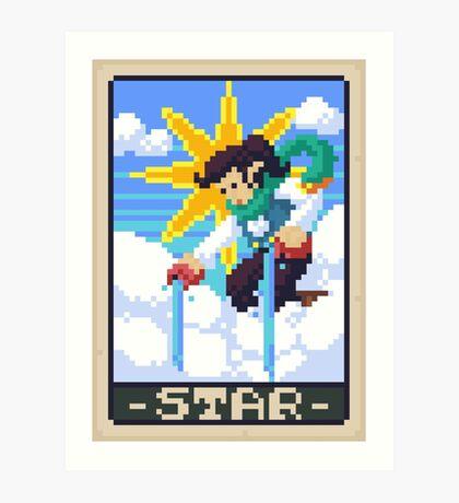 Star Tarot - Kellie Art Print
