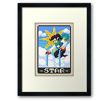 Star Tarot - Kellie Framed Print